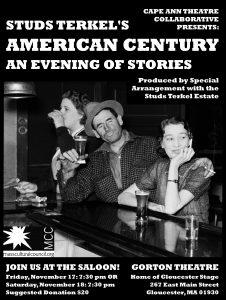 Studs Terkel's American Century Poster