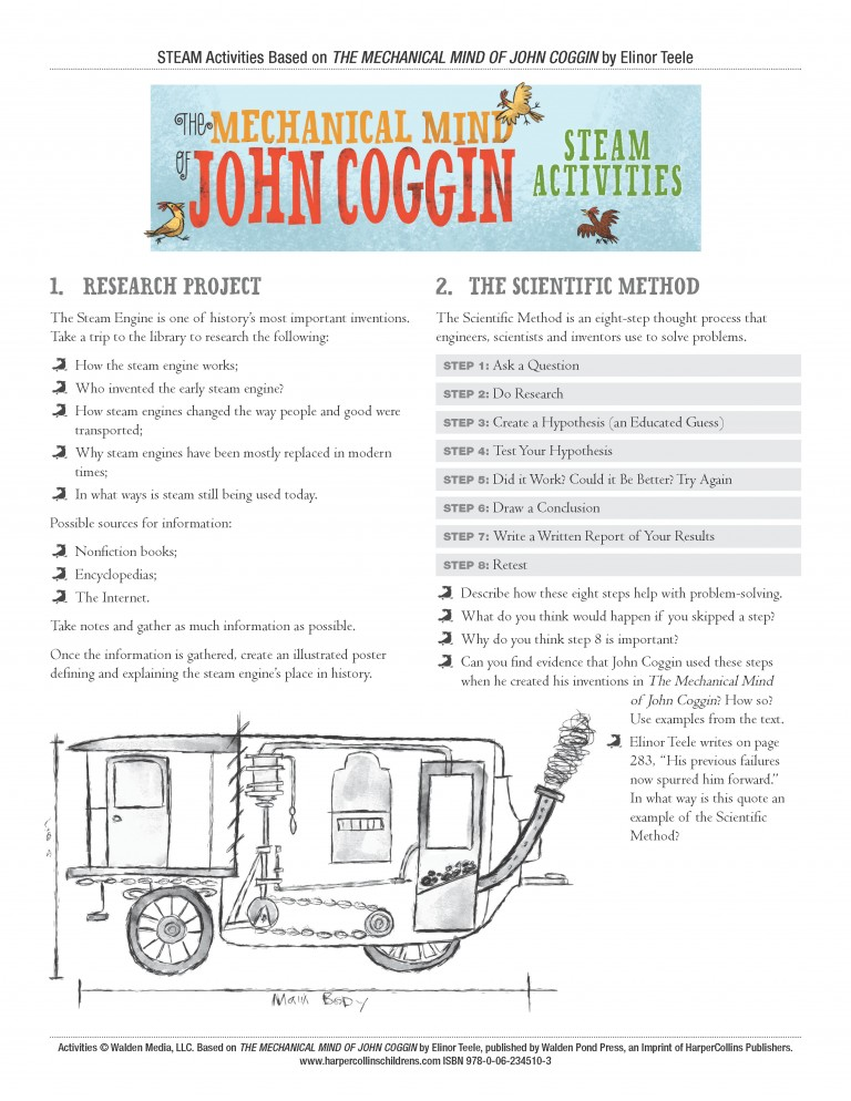 Mechanical Mind of John Coggin Educational Activities