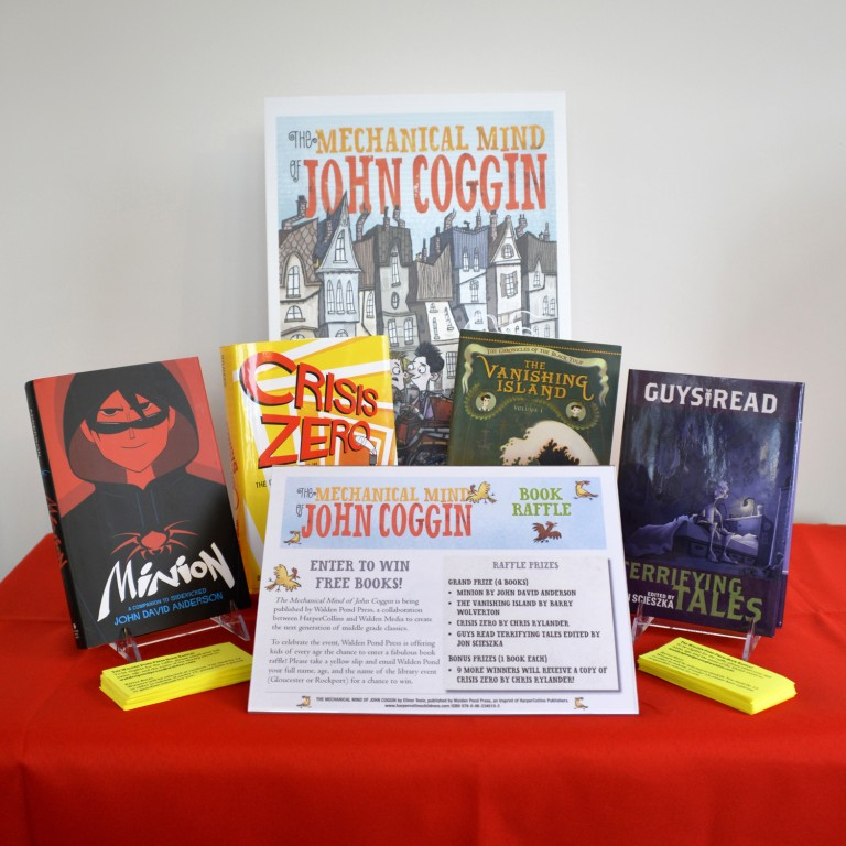Walden Pond Press Book Raffle - Mechanical Mind of John Coggin Book Launch