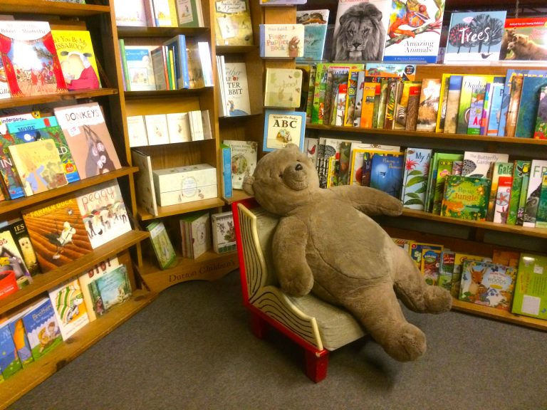 Children's Section, Jabberwocky Bookshop, Newburyport